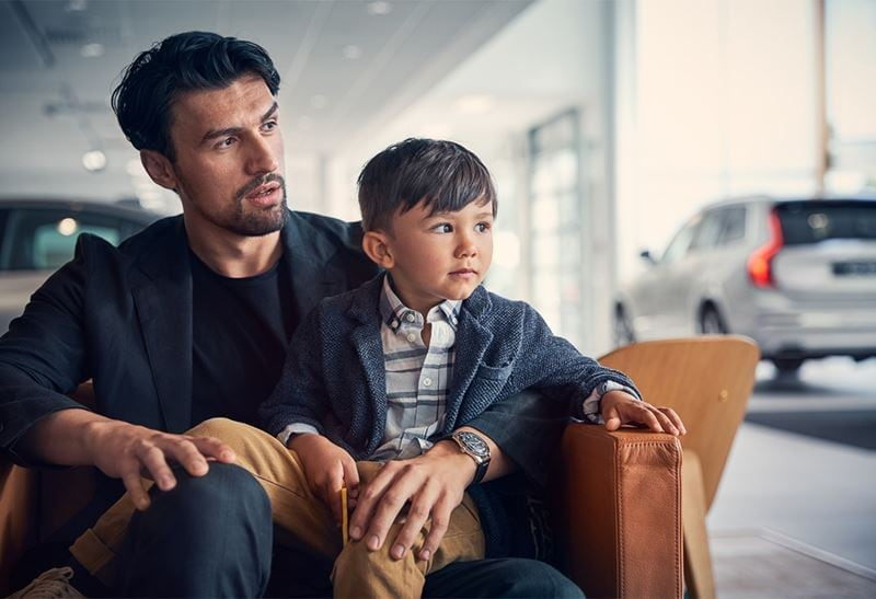 Father and Son Visting Service Center
